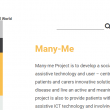 Many-Me presented via new AAL Programme website