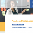 Many-Me subscribed for the AAL Lean Start-up Academy